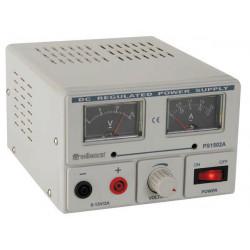 Lab power supply 0 15v 2a analogue display
