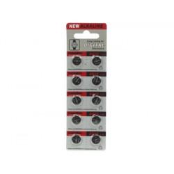 Pila de botón para reloj 1.5v 68mah lr1130 ag10 (10 uds. blister)
