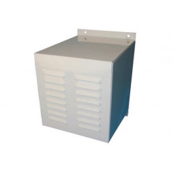 Metal enclosure outdoor occasion tampered with default alarm siren metal box