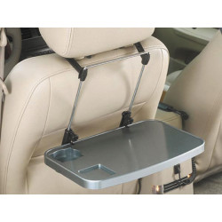 Tablette rabattable auto table inclinable amutr pour siege de voiture