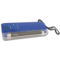 Lampe uv miniature zluvbl torche decteur faux billet detection carte bancaire ultraviolet