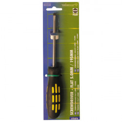 1 schraubendreher schlitz 5.0mm 195mm