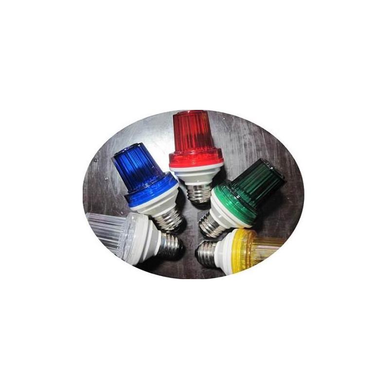 Orange Eclats Stroboscopique Jaune Ambre Douille 220v Led E27 Flash Antivols 1w Lumiere Stroboscope 10 Lampe UGqMzVpS