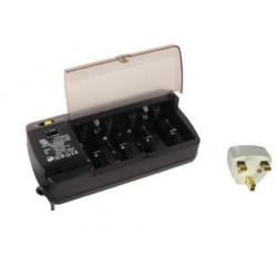 Cargador descargador para bateria recargable ni cd&mi hh cargadores para baterias recargables cargadores