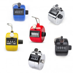 6 pcs Tally Counter, Mixed Plastic & Metal Tally Counter Clicker