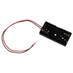 8 X Koppler mit 2 batterien r6 mit draht aa am3 lr6 15a e91 mn1500 815 4006 gehause mit 2 akkumulatoren