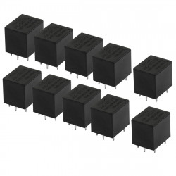 10 X Relais finder electric 24vcc 10a 1 contact  rlf3611 9024