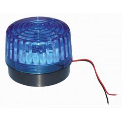 Flash alarma electronico xenon azul 220vca ø99x75mm haa220b flashs alarmas electronicas azules