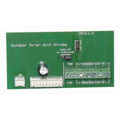 Circuit de sirene autoalimentee sa120n BS-1 alarme sonore securite