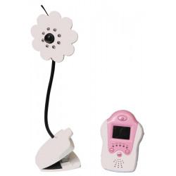 Caméra bébé fleur interphone reconditionné moniteur visiophone video sans fil ecoute surveillance