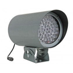 Projecteur 12v 60 led infrarouge interieur 100m camirp4 eclairage infrarouge camera surveillance