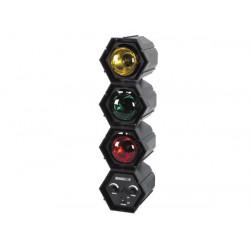 Chenillard modulaire 3 x 60w 220v jeu de lumiere vdl360rl2 sequenceur microphone pilotage musique