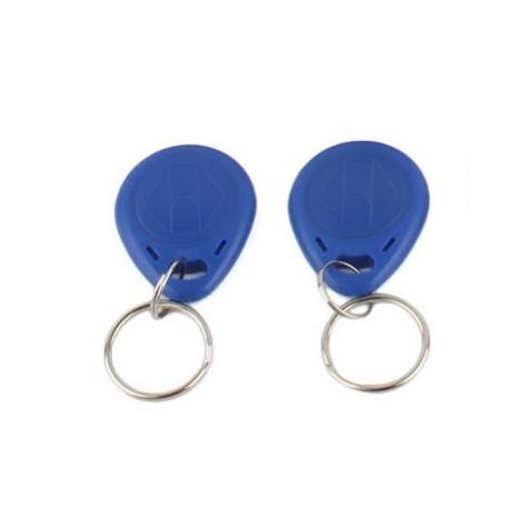 2 pcs EM4305 Copy Rewritable Writable Rewrite EM ID keyfobs RFID Tag Key  Ring Card 125KHZ Proximity Token Access Duplicate - Eclats Antivols