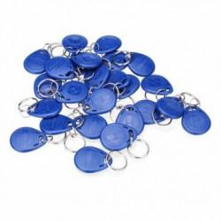 20 pcs tag cle badge clef em4305 em4100 em4102 RFID 125KHz enregistrable bleu