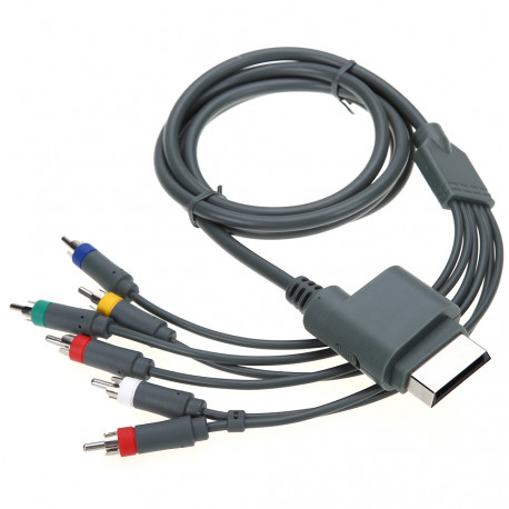 Alta Definizione 5.9ft 1.8M Composito AV RCA HD TV Audio AV Cavo AV ottico Cavo RCA per Xbox 360