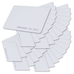 100 x T5577 Card Programmable RFID 125khz Rewritable Smart Tags In Access Control