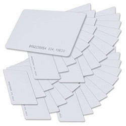 20 Carte proximité rfid t5577 t5557 réutilisable 125KHz controle accès em4305 em4100 em410X