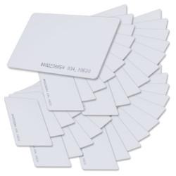 50 Carte proximité rfid t5577 t5557 réutilisable 125KHz controle accès em4305 em4100 em410X