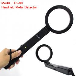 Detecteur metaux portable pliant securite portatif fouille detection metal ts-80