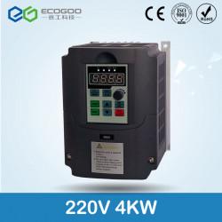 220v 4kw Einphasen-Eingang und 220V 3-Phasen-Ausgang Frequenzumrichter / einstellbare Geschwindigkeit Antrieb / Frequenzumrichte