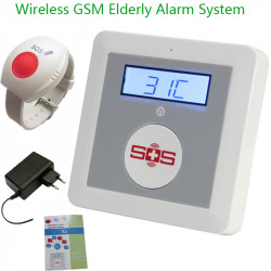 GSM One-click Alarm System with QUAD Band Emergency Call for help Worldwide with Intercom for Calling