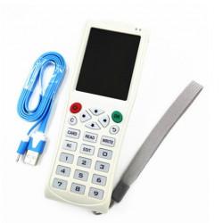 Programmateur copieur duplicateur carte tag RFID 13.56mhz H-ID 125khz 250kHz 375KHz 500KHz 750kHz