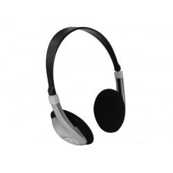 Casque numerique audio ecoute son hifi stereo compact fiche 3.5mm velleman hpd19