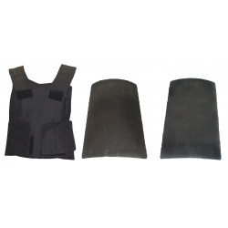 Bullet proof vest protection safety class ii civil multipurpose anti ballistic vests type 2 shots