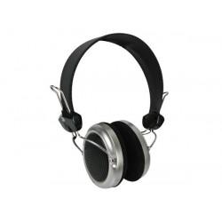 Casque numerique audio ecoute son hifi stereo compact fiche 3.5mm velleman hpd21