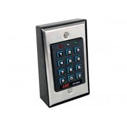Clavier autonome numerique a code alarme filaire verrouillage retro eclairage haa85bln