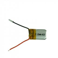 Batterie rechargeable lithium li-ion lipo akku 3,7v 120mah accumulateur accu Li-polymer helicoptere avion