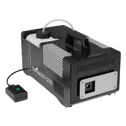 Máquina de humo eléctrica 220v 1200w hqsm10004 230v 240v controlador con cable