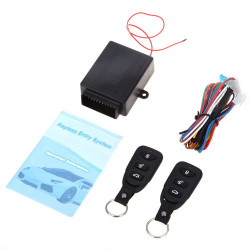 433.92MHz Universal Car Vehicle Remote Central Kit Door Lock Unlock Electric Lock and Air Lock Window Up Keyless Entry System