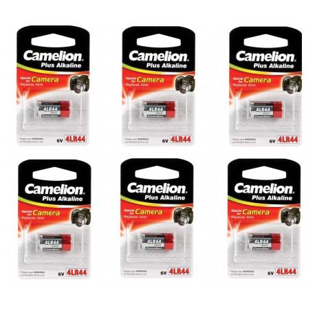 50 Camelion 4LR44 PX28A V4034PX A544 6V Photo Batterie