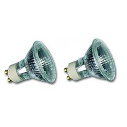 Hi-Spot Ampoule Halogène ES50 ECO 40 W 25° 230 V GU10 Lot de 2