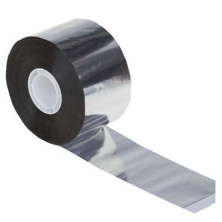 Ruban adhesif aluminium renforce 50mm 50m scotch cable chauffant anti gel isolation joint