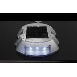 iluminación solar blanca del palillo del perno prisionero 6 señales de tráfico de las señales de tráfico del LED