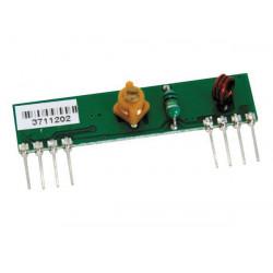 Modulo ricevitore radio 433 mhz (900 6895) a distanza rx433n tx433n