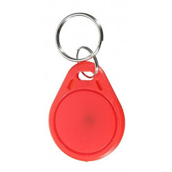 ISO14443A RFID 13.56MHz S50 Fibra inteligente IC Fobs / IC Tag / NFC Tag # 3H Memoria 1K Reescribible Impermeable