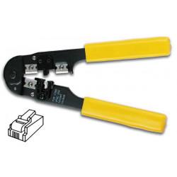 Crimping tool for connectors 4p4c, 4p2c (rj10)