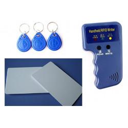 Copieur duplicateur em4100 em4305 T5577 programmateur carte 5 tag RFID 125 KHz + 2 cartes