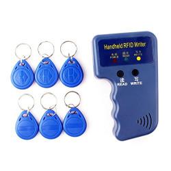 Copieur duplicateur em4100 em4305 T5577 programmateur carte proximité tag RFID 125 KHz + 6 badges