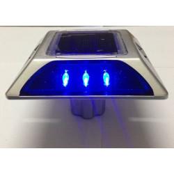 Prigioniero solare stradale con catarifrangente quadrato in alluminio LED Cat Rye con ancoraggio