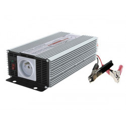 Modified sine wave power inverter 1000w 12vdc in 230vac out french plug 'auto restart'