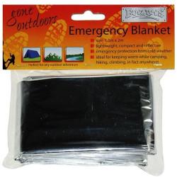 2 Couverture thermique Steroplast Kit de survie Camping Randonnée Premier Secour
