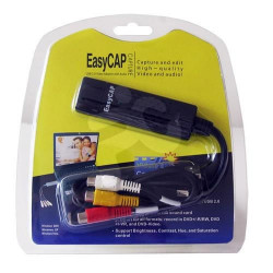 easycap usb video capture adapter Analog adapter usb audio video acquisition card cmp usbvg5 k7 video converter