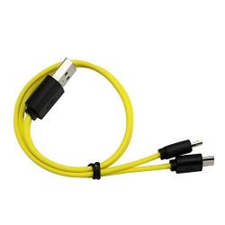 Cavo di ricarica Micro USB Znter per 2 batterie ricaricabili r6usb r14usb r20usb 6f22usb