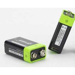 1 UNIDS ZNTER S19 9 V 400 mAh USB Recargable 9 V Lipo Batería Para RC Cámara Drone Accesorios