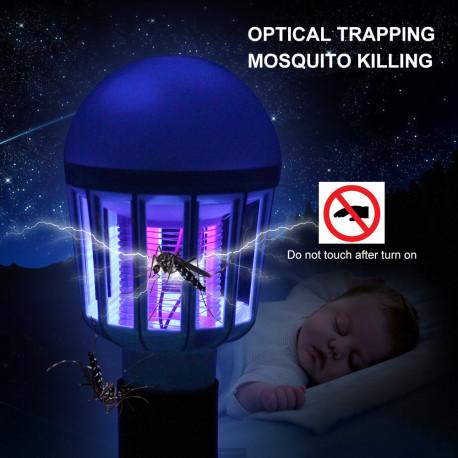 220V 240V E27 LED Mosquito Killer Lamp 9W 2 In 1 LED Ball Light Anti  Repellent Fly Bug Zapper Insect Killer LED UV Bulb - Eclats Antivols