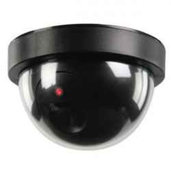 Camera video dome factice cctv sec-dummycam50 interieur led clignotante securite surveillance